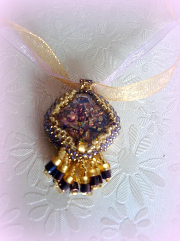 pendentif en perles
